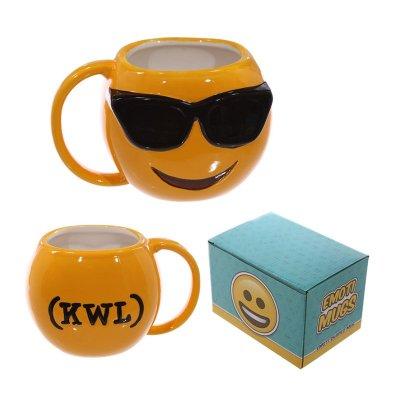 Taza cerámica Emoji Gafas de Sol