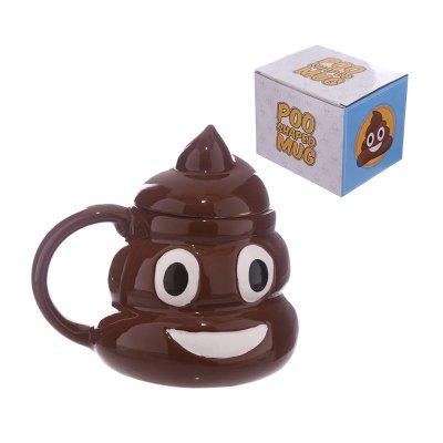 Taza cerámica con tapa Emotive Caquita