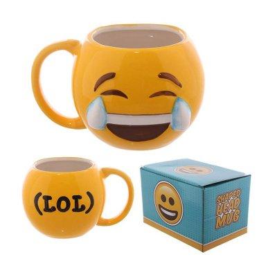 Taza cerámica Emoji Llorando de Risa