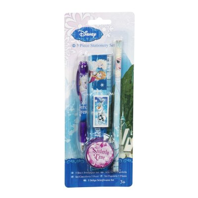 Wholesaler of Frozen 5 items stationery set
