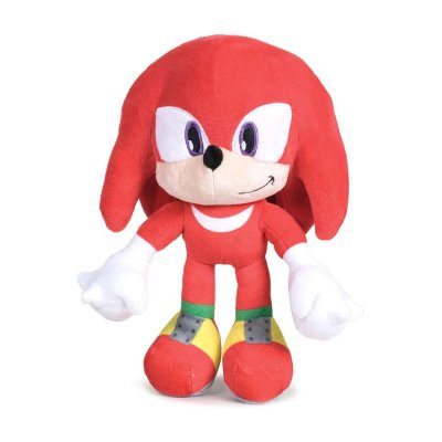 Peluche Knuckles Sonic The Hedgehog 30cm
