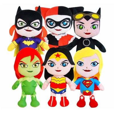 Peluches DC Super Hero Girls soft 35cm 13""