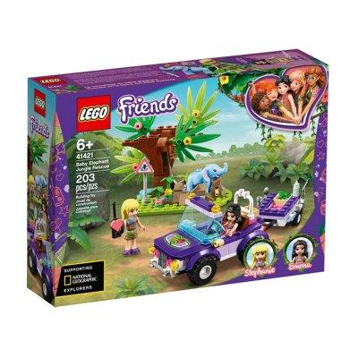 Rescate en la Jungla del bebé elefante Lego Friends