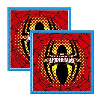 Wholesaler of Paquete 20 servilletas 33x33cm Spiderman Marvel