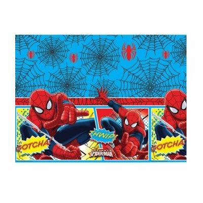 Mantel de mesa de plástico 120x180cm Spiderman