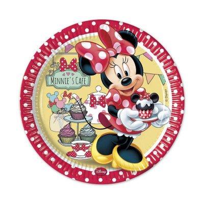 Wholesaler of 8 platos desechables 23cm Minnie's Cafe