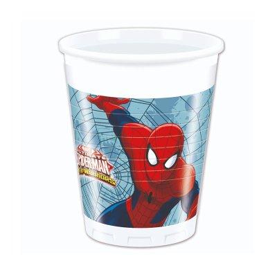 Wholesaler of 8 vasos de plástico desechables 200ml Spiderman Marvel