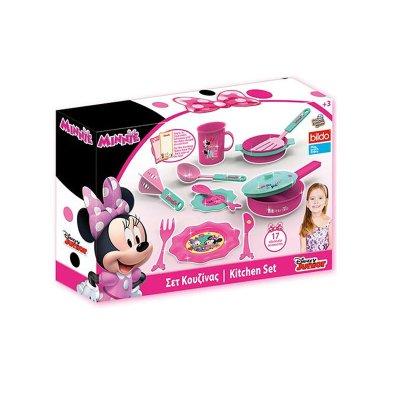 Playset de cocina Minnie Mouse 17pzs