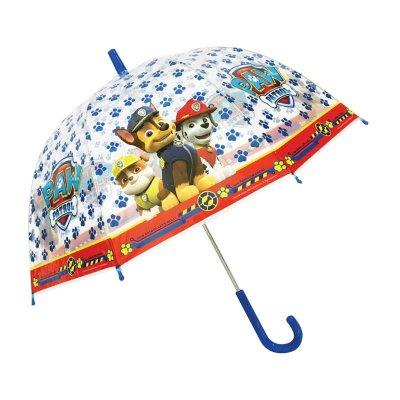 Paraguas transparente manual Paw Patrol 48cm