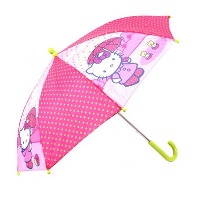 "Distribuidor mayorista de Paraguas manual Hello Kitty Polka Dots 38cm 15"" - modelo 1"