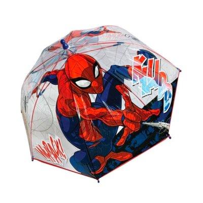 Paraguas cúpula transparente manual Spiderman 45cm