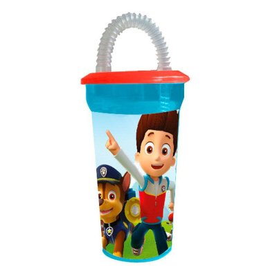 Wholesaler of Paw Patrol 450ml tumbler with lid and straw