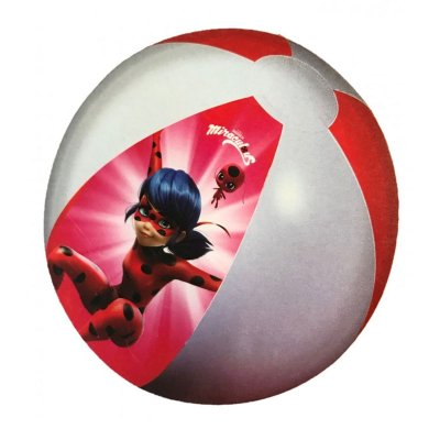 Pelota hinchable playa Ladybug 45cm