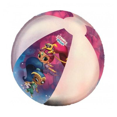 Pelota hinchable playa Shimmer & Shine