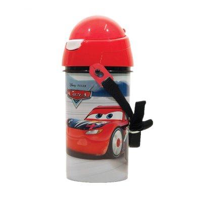 Botella robot pop up 500ml Cars