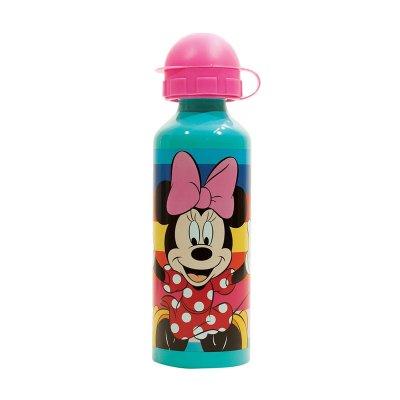Botella aluminio 520ml Minnie Mouse