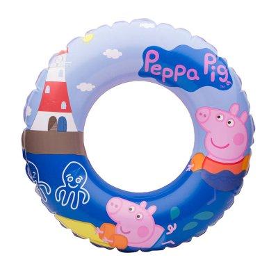 Wholesaler of Flotador rueda hinchable piscina Peppa Pig 51cm 3-6 años