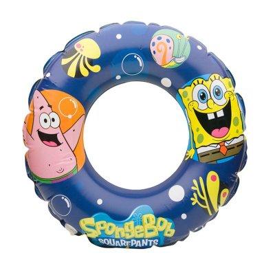 Flotador rueda hinchable piscina Bob Esponja 51cm