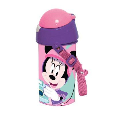 Botella robot pop up 500ml Minnie Mouse