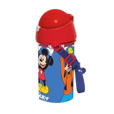 Botella robot pop up 500ml Mickey Mouse