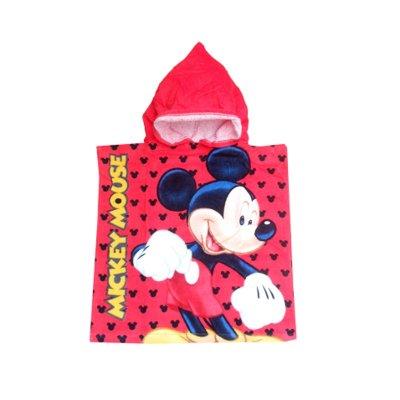 Poncho con capucha Mickey Mouse