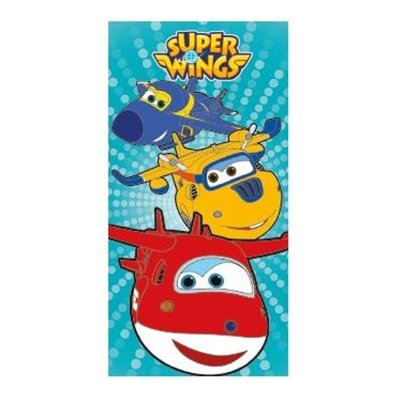 Toalla algodón Super Wings