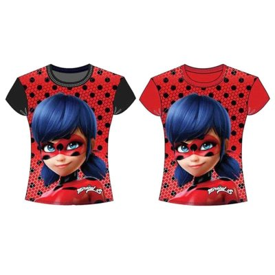 Camiseta Prodigiosa Las Aventuras de Ladybug 5 tallas