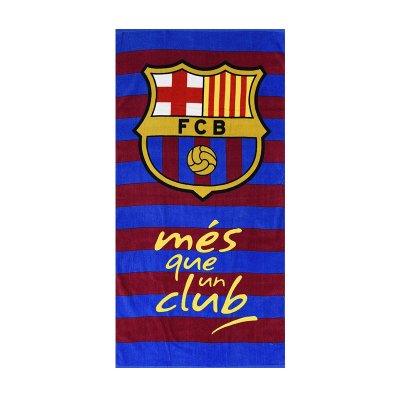 Toalla algodón Mès que un club F.C. Barcelona