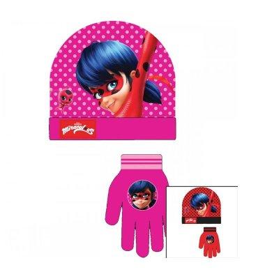 Set gorro guantes Ladybug (Miraculous) 2 modelos