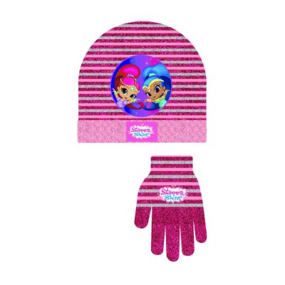 Set guantes gorro Shimmer and Shine