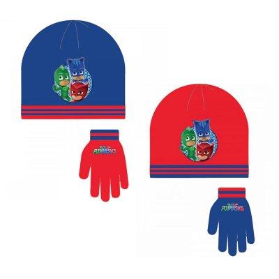 Set gorro guantes PJ Masks 2 modelos