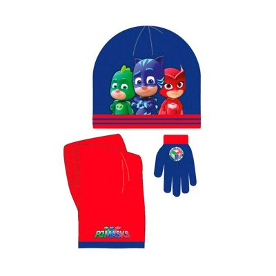 Set gorro bufanda guantes PJ Masks Hero