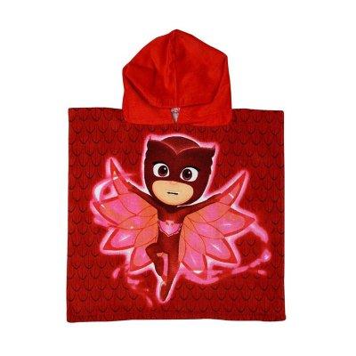 Poncho toalla con capucha algodón PJ Masks Owl