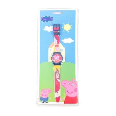 Reloj analógico azul Peppa Pig