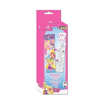 Puzzle Princesas Disney 2 en 1 24pzs