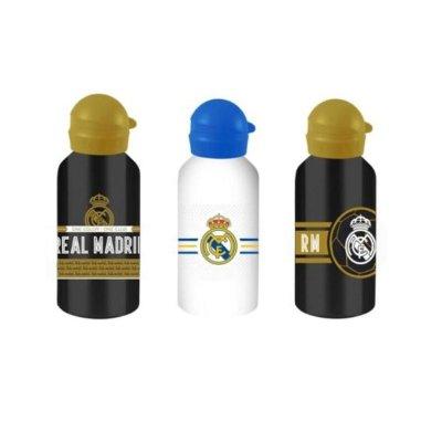 Botella aluminio 500ml Real Madrid