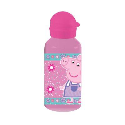 Botella aluminio 500ml Peppa Pig - rosa