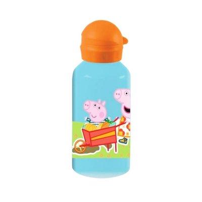 Botella aluminio 500ml Peppa Pig - naranja