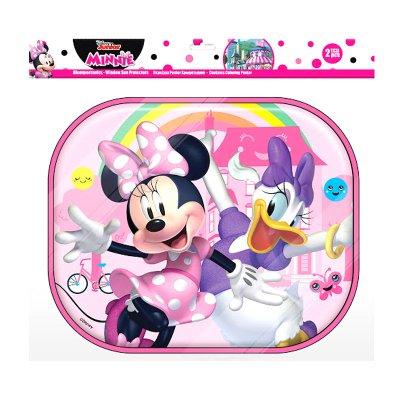 2 parasoles laterales Minnie Mouse Disney con lámina colorear