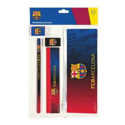 Set de papelería 5 piezas F.C. Barcelona