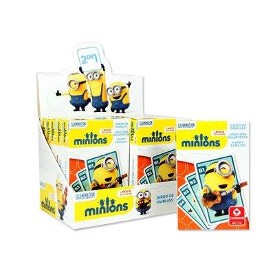 Baraja de cartas infantiles Minions
