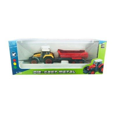 Miniatura vehículo Die-Cast 1:72 11801-1A - amarillo