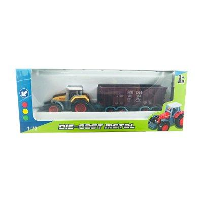 Miniatura vehículo Die-Cast 1:72 1801-1C - amarillo