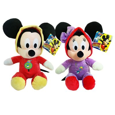 Mickey and Minnie Birdsong Romper Plush