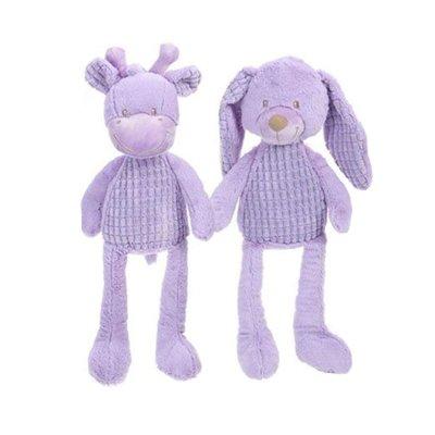 Peluches bebé surtido violeta 40cm
