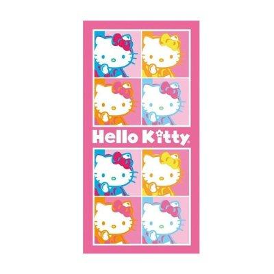 Toalla algodón Hello Kitty Pop Art