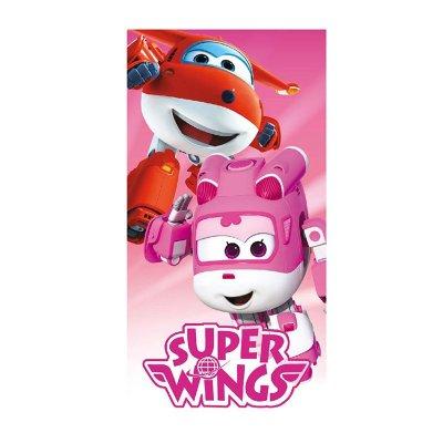 Toalla microfibra Super Wings Dizzy y Jett