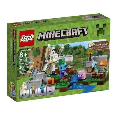 El gólem de hierro Lego Minecraft