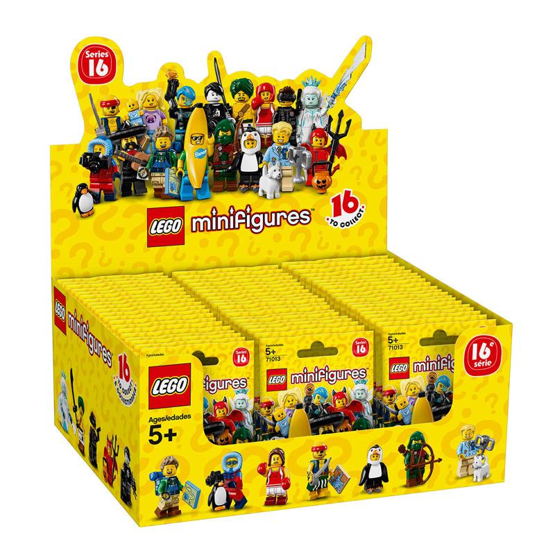 Sobres Minifiguras Edición Lego 16ª Kilumio zVqpLUMGS