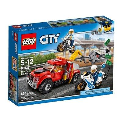 Cami n gr a en problemas lego city police kilumio - Camion de police lego city ...